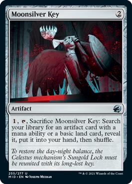 《月銀の鍵/Moonsilver Key》[MID] 茶U