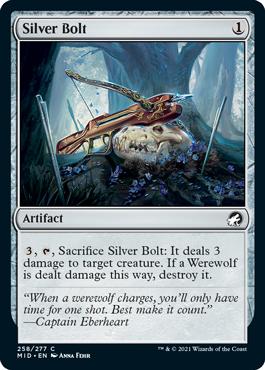《銀弾/Silver Bolt》[MID] 茶C