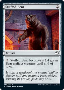 《熊の剥製/Stuffed Bear》[MID] 茶C