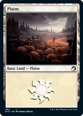 《平地/Plains》[MID] 土地(380)