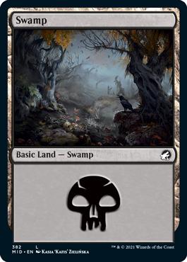 《沼/Swamp》[MID] 土地(382)