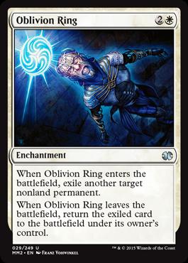 《忘却の輪/Oblivion Ring》[MM2] 白U