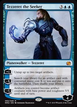 《求道者テゼレット/Tezzeret the Seeker》[MM2] 青R