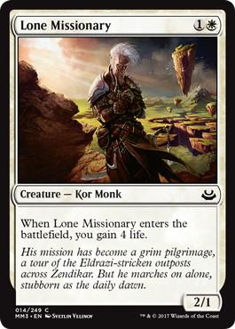 《孤独な宣教師/Lone Missionary》[MM3] 白C