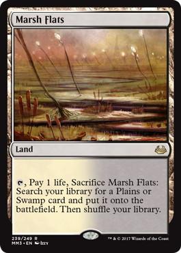 《湿地の干潟/Marsh Flats》[MM3] 土地R