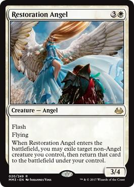 《修復の天使/Restoration Angel》[MM3] 白R
