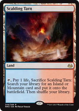 《沸騰する小湖/Scalding Tarn》[MM3] 土地R