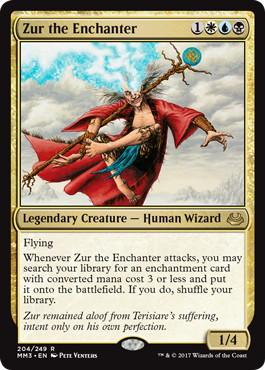 《結界師ズアー/Zur the Enchanter》[MM3] 金R