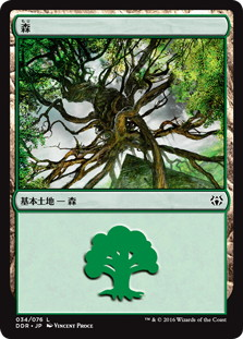 《森/Forest》[NvO] 土地 (34/76)