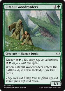 《シタヌールの樹木読み/Citanul Woodreaders》[NvO] 緑C