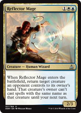 《反射魔道士/Reflector Mage》[OGW] 金U