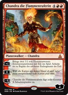 《炎呼び、チャンドラ/Chandra, Flamecaller》[OGW] 赤R