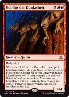 《ゴブリンの闇住まい/Goblin Dark-Dwellers》[OGW] 赤R