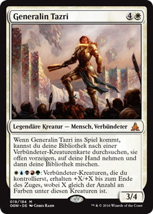 《タズリ将軍/General Tazri》[OGW] 白R