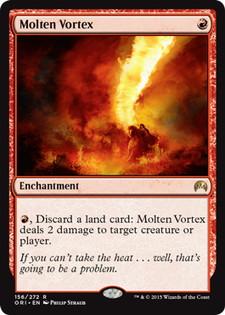 《溶鉄の渦/Molten Vortex》[ORI] 赤R