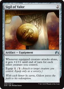 《武勇の印章/Sigil of Valor》[ORI] 茶U