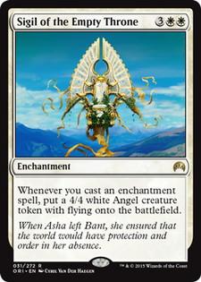 《空位の玉座の印章/Sigil of the Empty Throne》[ORI] 白R