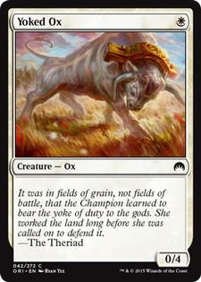 《鋤引きの雄牛/Yoked Ox》[ORI] 白C