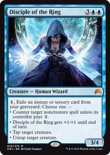 《輪の信奉者/Disciple of the Ring》[ORI] 青R