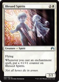 《祝福された霊魂/Blessed Spirits》[ORI] 白U