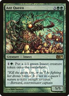 【Foil】《蟻の女王/Ant Queen》[発売記念プロモ] 緑