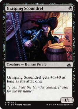 Grasping Scoundrel