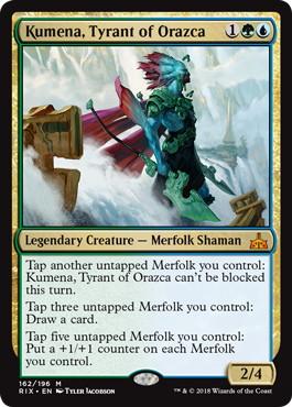 Kumena, Tyrant of Orazca