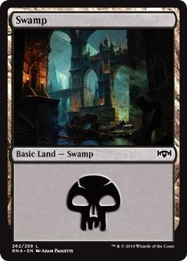 《沼/Swamp》[RNA] 土地(262)