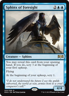 Sphinx of Foresight