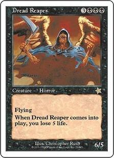 《戦慄の死神/Dread Reaper》[S99] 黒R
