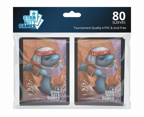 StarCityGames.com スリーブ 2016 Creature Collection 《Fintuition》 80枚入り