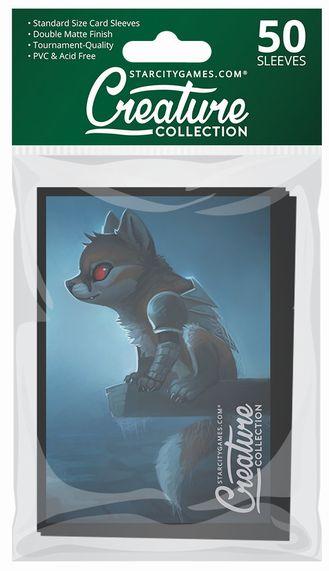 StarCityGames.com スリーブ 2017 Creature Collection 《Vampire Nightfox》 50枚入り