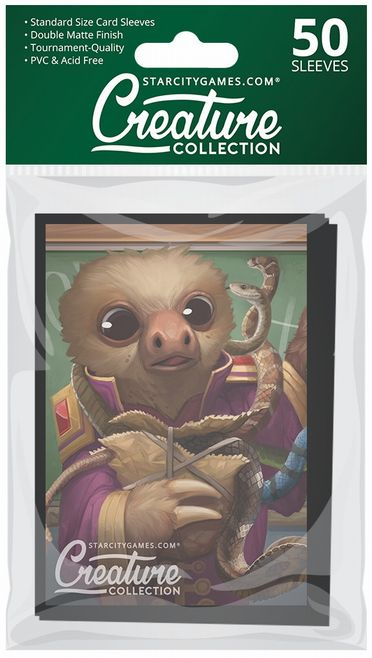 StarCityGames.com スリーブ 2018 Creature Collection 《Two-Toed Spectacle》 50枚入り