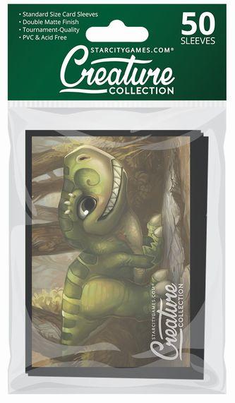 StarCityGames.com スリーブ Creature Collection 《Prehistoric Playtime》 50枚入り