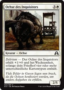 《審問官の雄牛/Inquisitor's Ox》[SOI] 白C