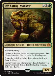 《ギトラグの怪物/The Gitrog Monster》[SOI] 金R