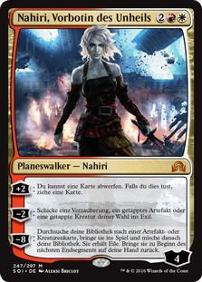 《先駆ける者、ナヒリ/Nahiri, the Harbinger》[SOI] 金R