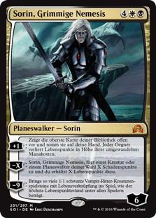 《死の宿敵、ソリン/Sorin, Grim Nemesis》[SOI] 金R