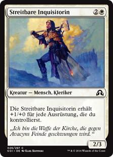 《戦闘的な審問官/Militant Inquisitor》[SOI] 白C