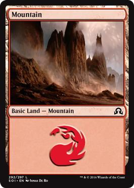 【Foil】《山/Mountain》[SOI] 土地 (292)