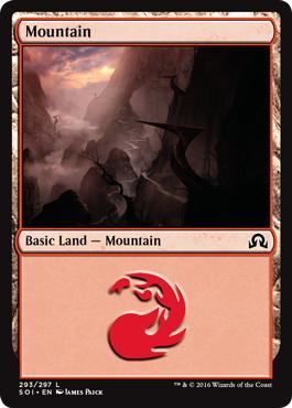 【Foil】《山/Mountain》[SOI] 土地 (293)