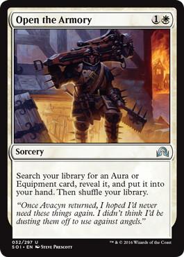 《武器庫の開放/Open the Armory》[SOI] 白U