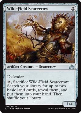 《荒原のカカシ/Wild-Field Scarecrow》[SOI] 茶U
