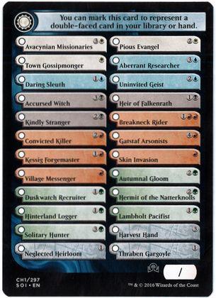 Checklist Card》(1/2)[SOI]   hareruya