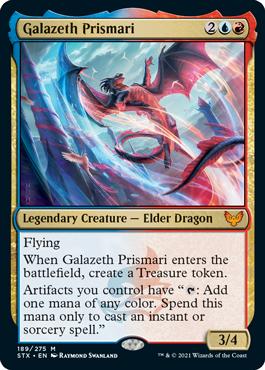 《ガラゼス・プリズマリ/Galazeth Prismari》[STX] 金R