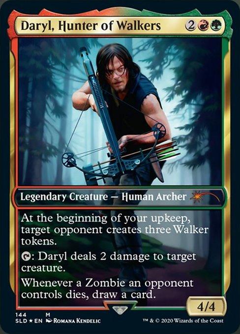 【Foil】《Daryl, Hunter of Walkers》[Secret Lair] 金