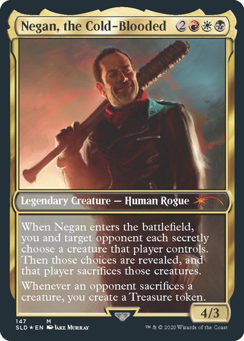 【Foil】《Negan, the Cold-Blooded》[Secret Lair] 金