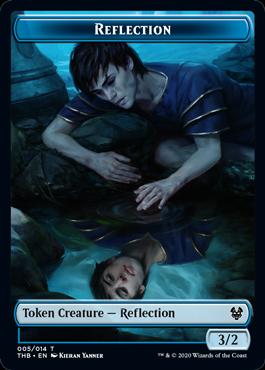 《反射トークン/Reflection Token》[THB] 青