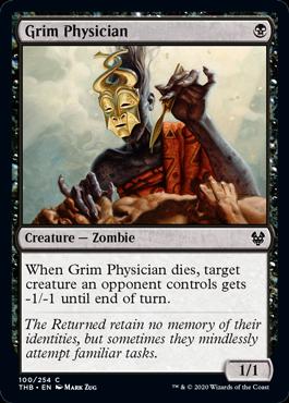 《残酷な医師/Grim Physician》[THB] 黒C
