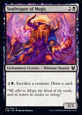 《モーギスの魂刈り/Soulreaper of Mogis》[THB] 黒C